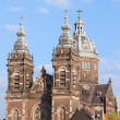 Saint Nicholas Church in Amsterdam — Stock Photo