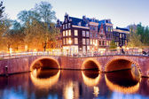 Lights of Amsterdam — Stock Photo