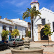 Plaza Santo Cristo in Marbella — Stock Photo