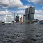 City of Rotterdam Downtown — Stock Photo