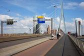 Puente Erasmo de rotterdam — Foto de Stock