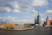 City of Rotterdam in Netherlands — Stock Photo
