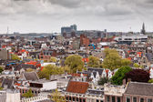 City of Amsterdam from Above — Stock Photo
