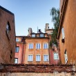 Houses in the Old Town of Warsaw — Stock Photo