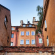 Stock Photo: Houses in the Old Town of Warsaw