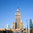 Palace of Culture and Science in Warsaw — Stock Photo #34666849