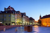 Morning in the Old Town of Warsaw — Foto Stock