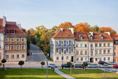 New Town Houses in Warsaw — Stock Photo