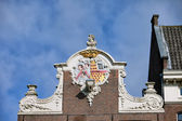 House Gable in Amsterdam — Stock Photo