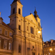 Church of the Holy Spirit in Warsaw — Stock Photo