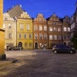 Kanonia Square in the Old Town of Warsaw — ストック写真