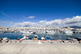 Luxury Marina of Puerto Banus Skyline — Stock Photo
