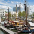 Stock Photo: Port in the City Centre of Rotterdam