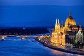 Budapest by Night — 图库照片