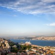 Istanbul Cityscape in Turkey — Stock Photo