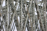 The Hef Lift Bridge Closeup Details in Rotterdam — Stock Photo