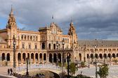 Plaza de Espana in Seville — Stock Photo