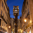 Santa Justa Lift at Night — Stock Photo #46020747