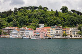 Houses Along The Bosphorus Strait — Stockfoto