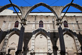 Ruins of Carmo Convent in Lisbon — Stock Photo