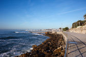 Atlantic Ocean Promenade in Estoril — Stock Photo