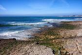 Brzeg Oceanu Atlantyckiego w estoril — Zdjęcie stockowe