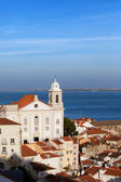 Alfama District in the City of Lisbon — Zdjęcie stockowe