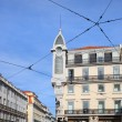Buildings in the Chiado Neighbourhood of Lisbon — Stock Photo