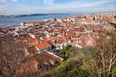 City of Lisbon from Above — Stock Photo