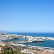 Barcelona Port from Above — Stock Photo #47698005