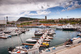 Port Vell Marina in Barcelona — Stock Photo
