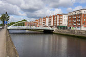 City of Dublin in Ireland — Stock Photo