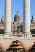 National Art Museum of Catalonia in Barcelona — Stock Photo