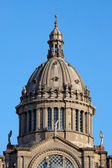 Dome of the National Art Museum of Catalonia in Barcelona — Stock Photo