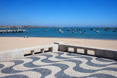 Cascais Promenade and Bay in Portugal — Stock Photo