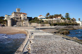 Resort Town of Estoril in Portugal. — Stock Photo