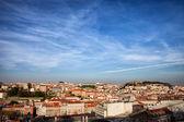 City of Lisbon at Sunset — Stock Photo