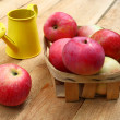 Harvest of apples - Stock Photo