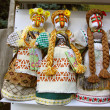 "Stock Photo: Sale of Ukrainifolk dolls ""motanka"""