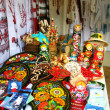 Stall on the sale of souvenirs from Ukraine. — Stock Photo #13641727