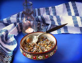 Kutya is a traditional porridge on Christmas Eve. — Stock Photo