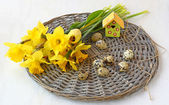 Easter still life — Stockfoto