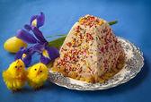 Easter cake of cheese — ストック写真