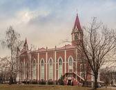 Temple Seventh-day Adventist — Stock Photo