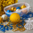 Christmas baubles — Stock Photo #42119117