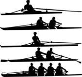 Rowing set — Stock Vector