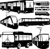 Urban transportation — Stock Vector