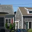 Stock Photo: Cape Cod Cottages