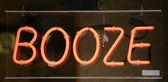Booze Sign — Stock Photo