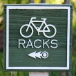 Stockfoto: Racks Sign